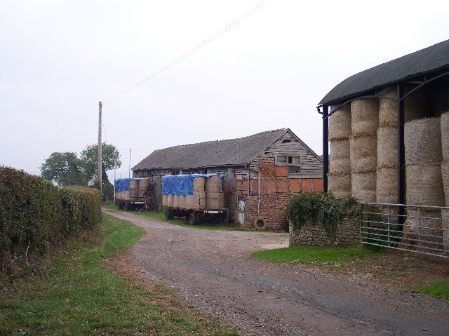 "Farm Buildings at ""The Meadow Farm"""