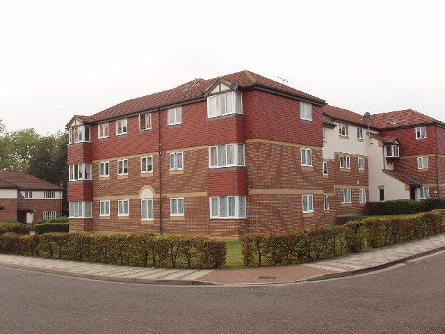 Flats in Campbell Gordon Way, Dollis Hill