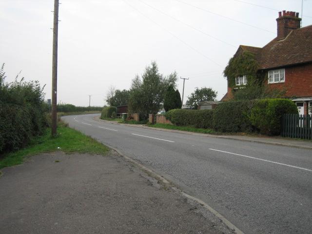 Road near Mill hill