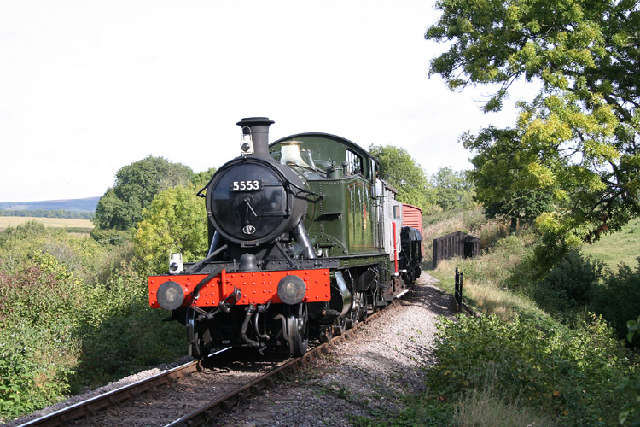 Combe Florey: West Somerset Railway at Nethercott