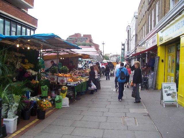Tachbrook St market, Pimlico