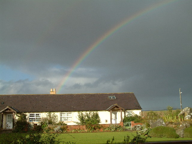 Rainbow at Outchester