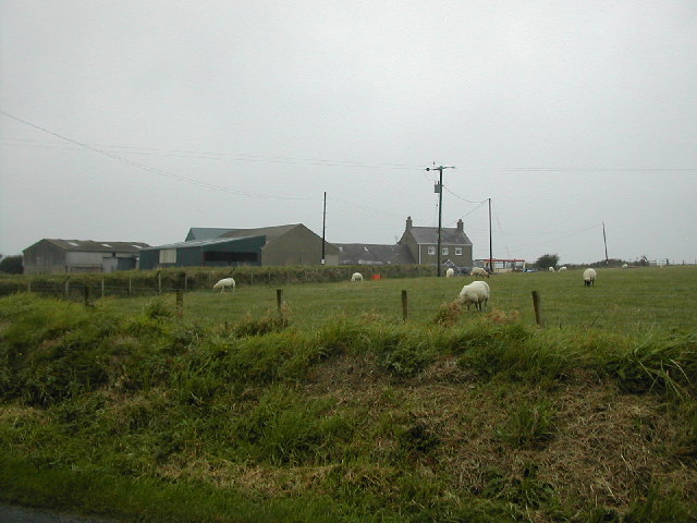 Farm near Pen Y Bryn