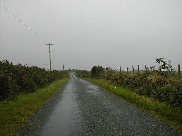 Country Lane near Penllech