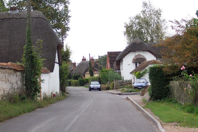 Longparish village scene