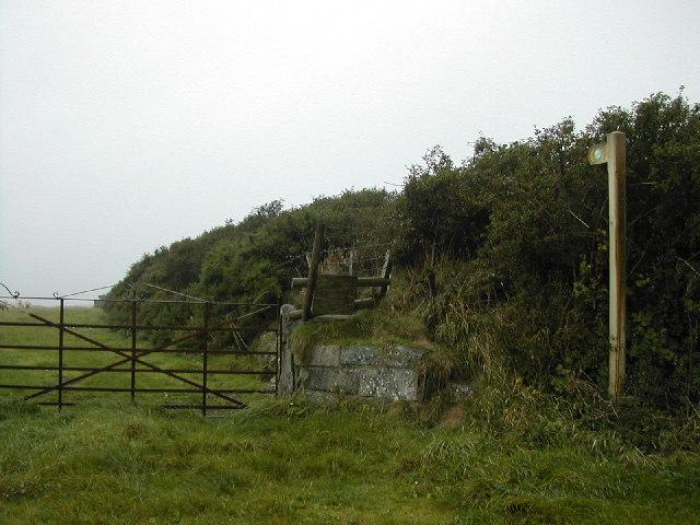 Footpath to Porth Widrin
