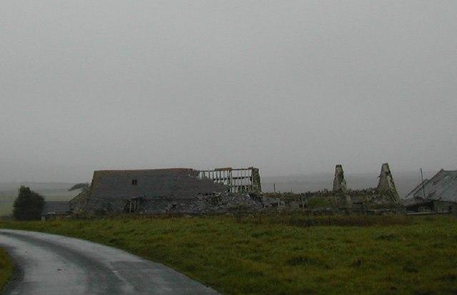 Derelict Farm at Methlem