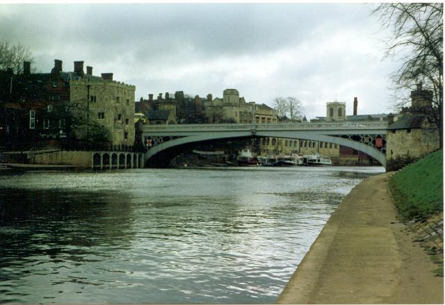 Lendal Bridge, York.