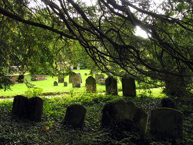 Graveyard at St Swithuns near Combe