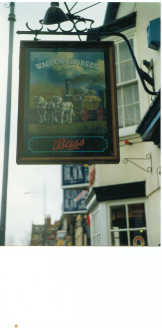 """Waggon & Horses"" pub, York."