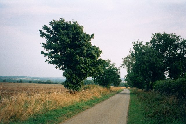Minor road in West Oxfordshire