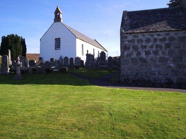 St Callan's Church in Rogart