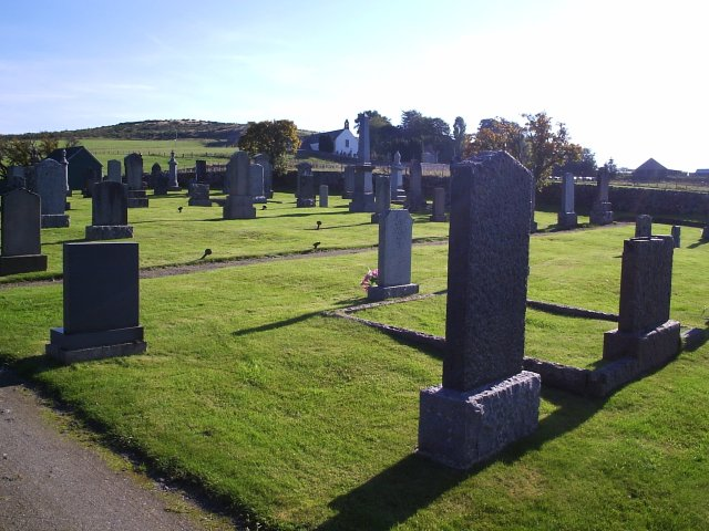 St Callan's Church New Grave Yard