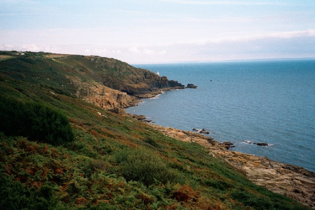 Coast path near Tater-du lighthouse