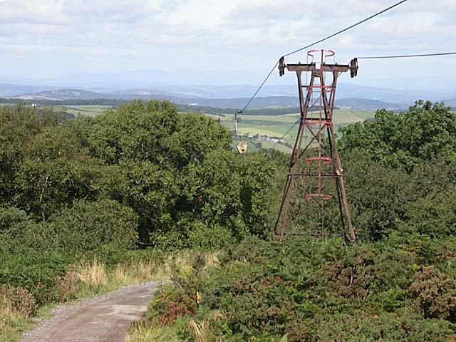 Aerial ropeway Claughton Moor