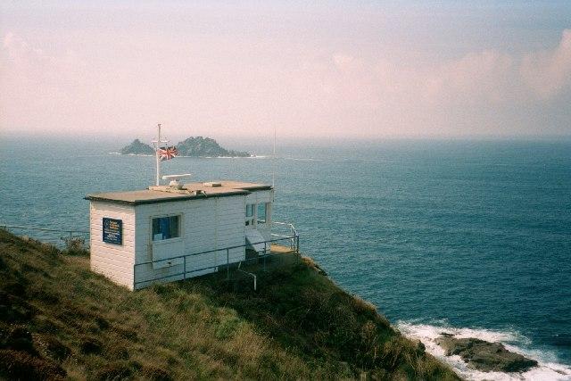 Coastwatch hut at Cape Cornwall
