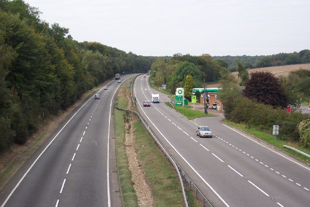A303 near Forton