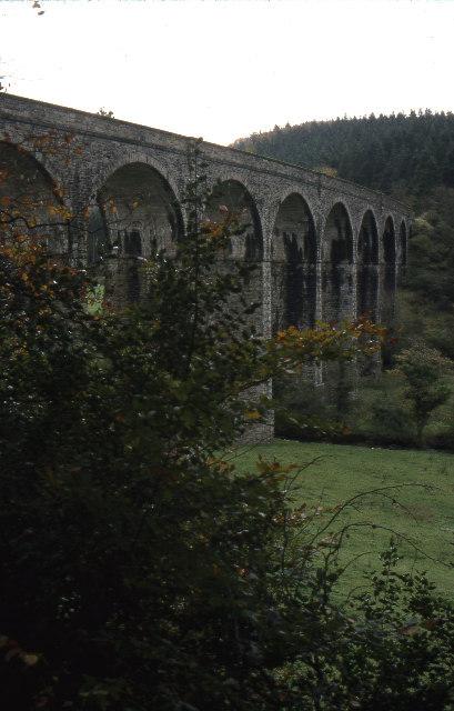 Former LSWR Shillamill railway viaduct