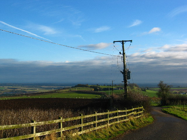 By the  Radio Masts on Old Pale Heights
