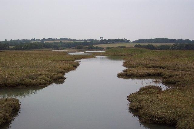 River Yar mudflats