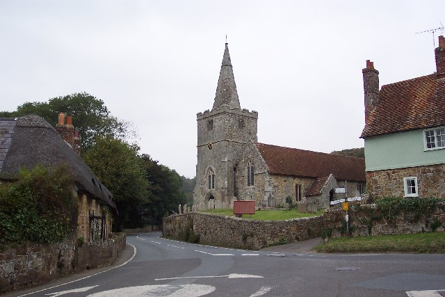 Shorwell church
