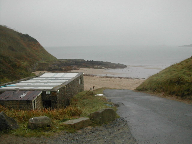 Road Entrance to Porth Oer