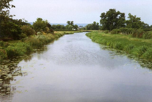 Creech St Michael: the river Tone at Ham