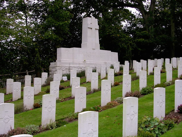 first world war graves