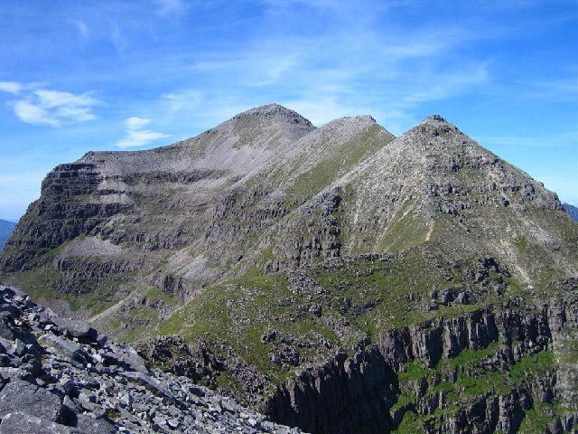 Liathach's central summit of Spidean a' Choire Leith