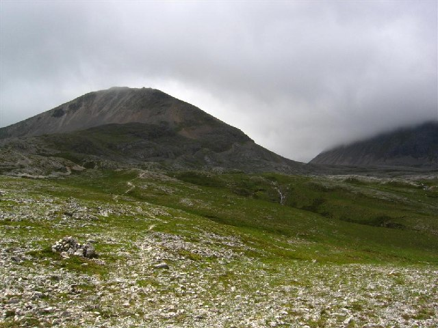 The eastern slopes of Ben Eighe, rising to Creag Dhubh