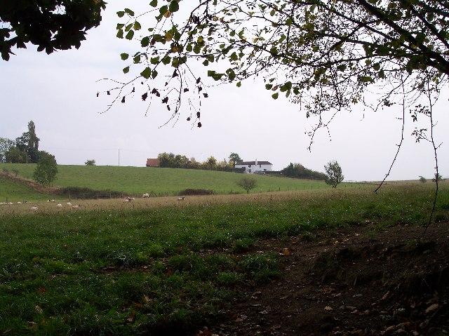 Cottages near Kingshill Farm
