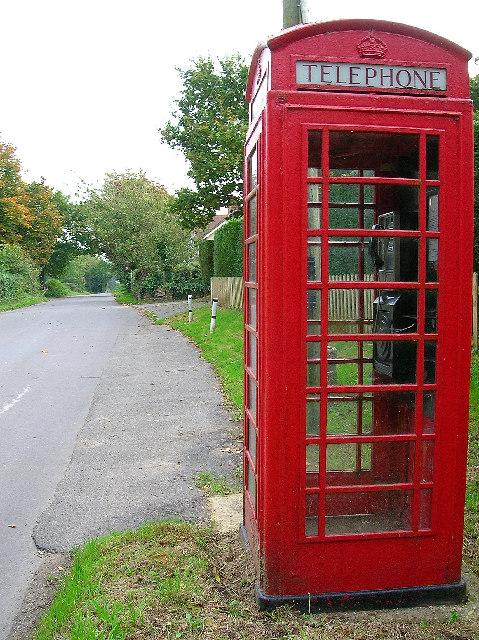 Telephone box, Chalvington