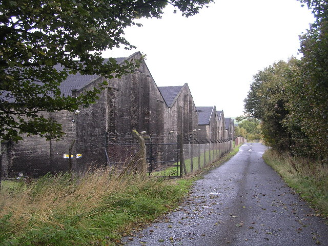 Bonded warehouses at Buchley