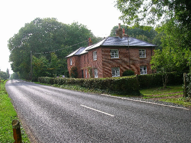 Coppice Cottages near Berwick Station