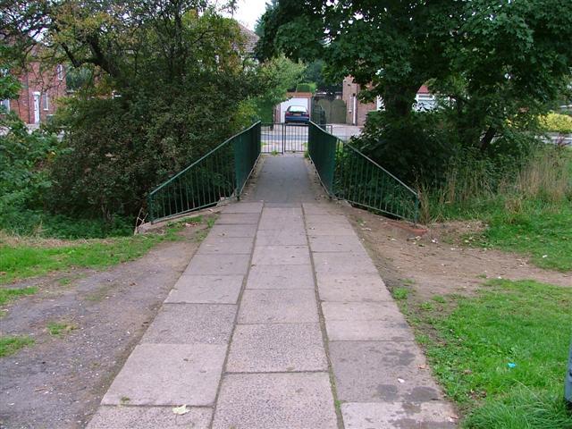 Footbridge Over Marton Beck
