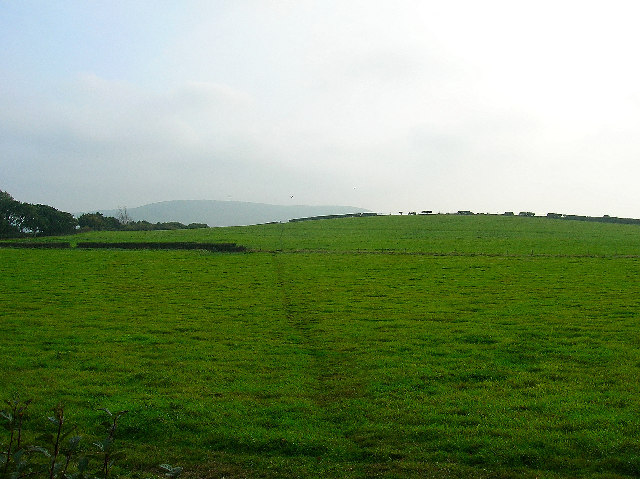 Footpath over the hill