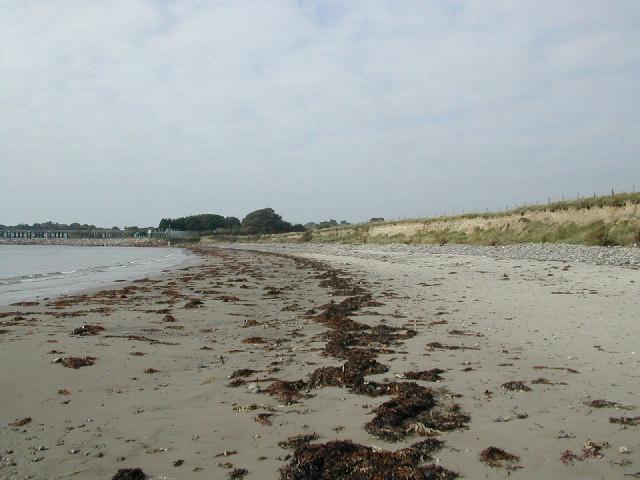 Beach near holiday camp