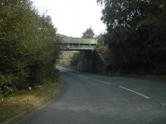 Rail Bridge over A498