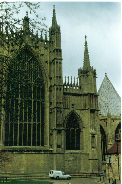 York Minster, East end