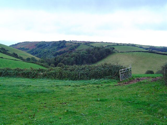 Above Lannacombe valley - South Hams