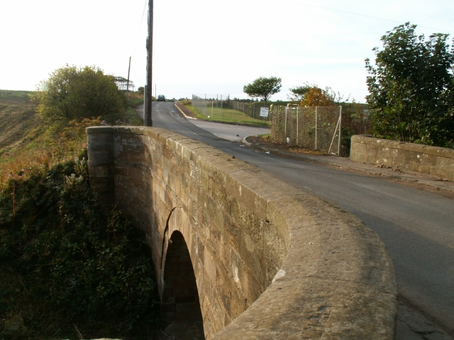 Road bridge over the Dreel Burn