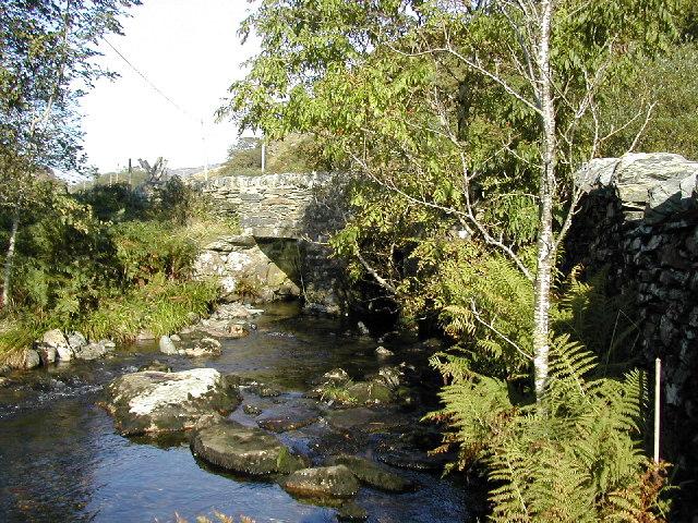 Pont  Blaen Nanmor Bridge