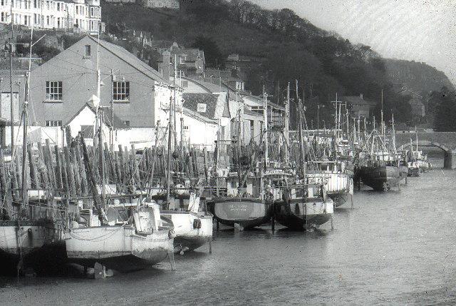 Fishing boats, West Looe