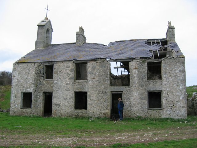 Schoolhouse? near Penmon