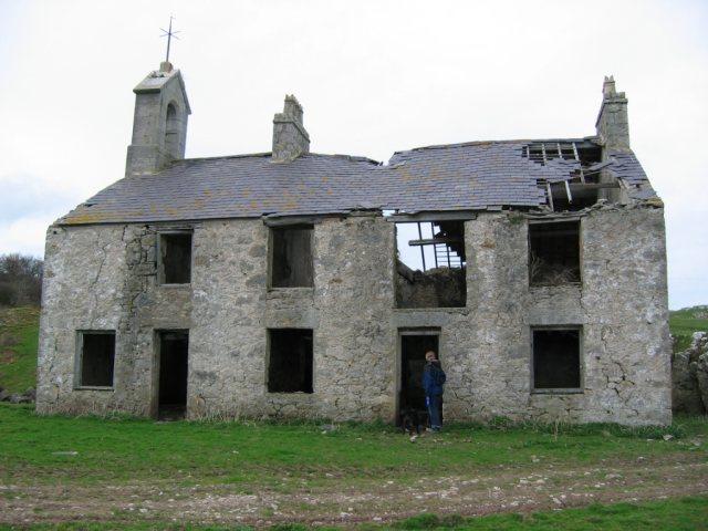 Penmon Park Quarry Garrison House