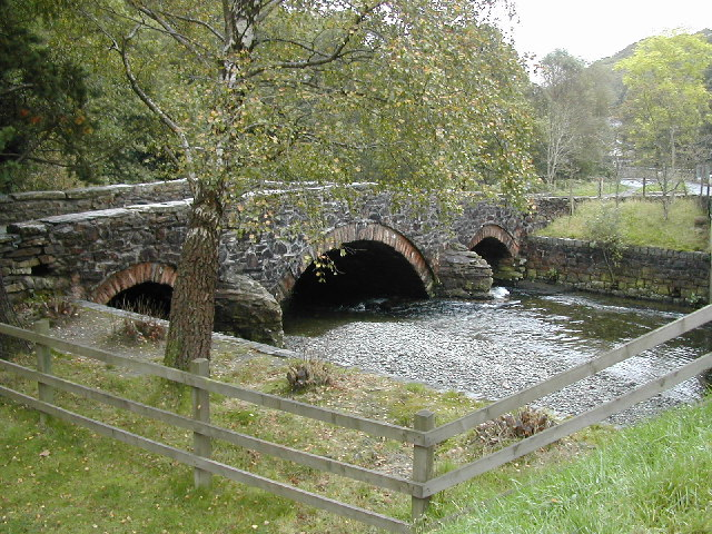 Old bridge at Nantgwynant