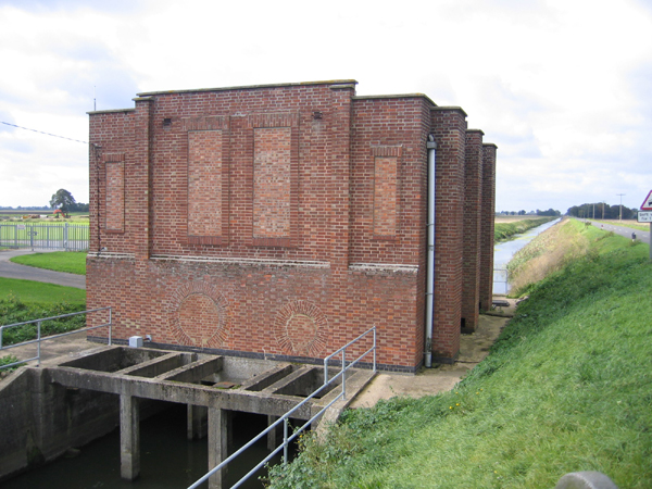 Pumping Station, French Drove, Thorney, Cambs