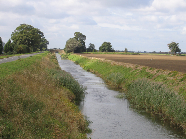New South Eau and French Drove, Thorney, Cambs