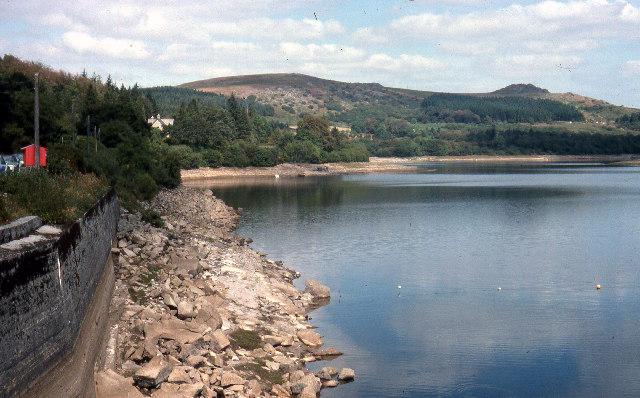 Burrator Reservoir July 1976