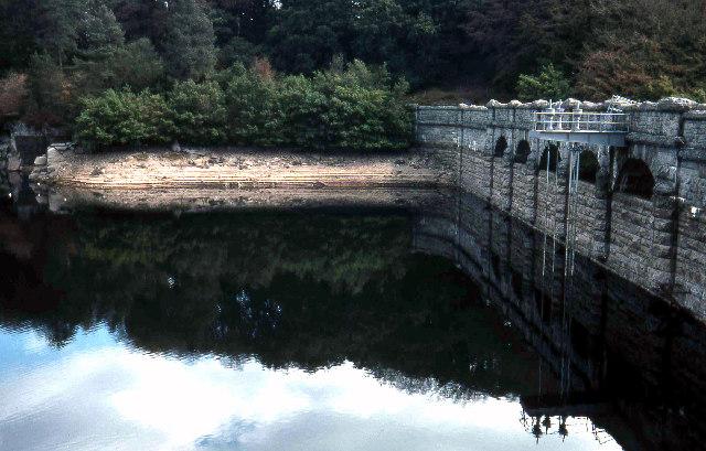 Burrator Dam.  1976